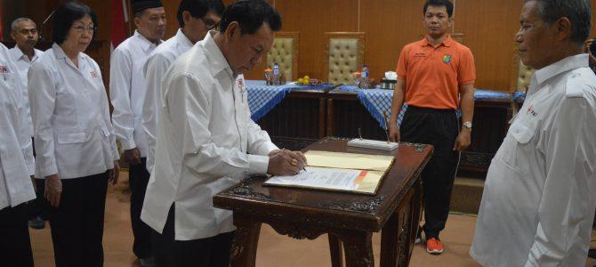 Pelantikan Pengurus Baru PMI Kota Pekalongan TH 2017/2022