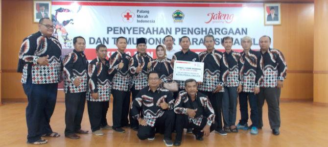 Acara Penyematan Piagam Penghargaan DDS 50 & 75 kali oleh Gubernur Jawa Tengah Bapak Ganjar Pranowo