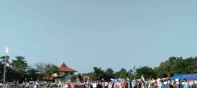 Jumpa Bhakti Gembira (Jumbara) PMR Ke-III PMI Kota Pekalongan Tahun 2019.