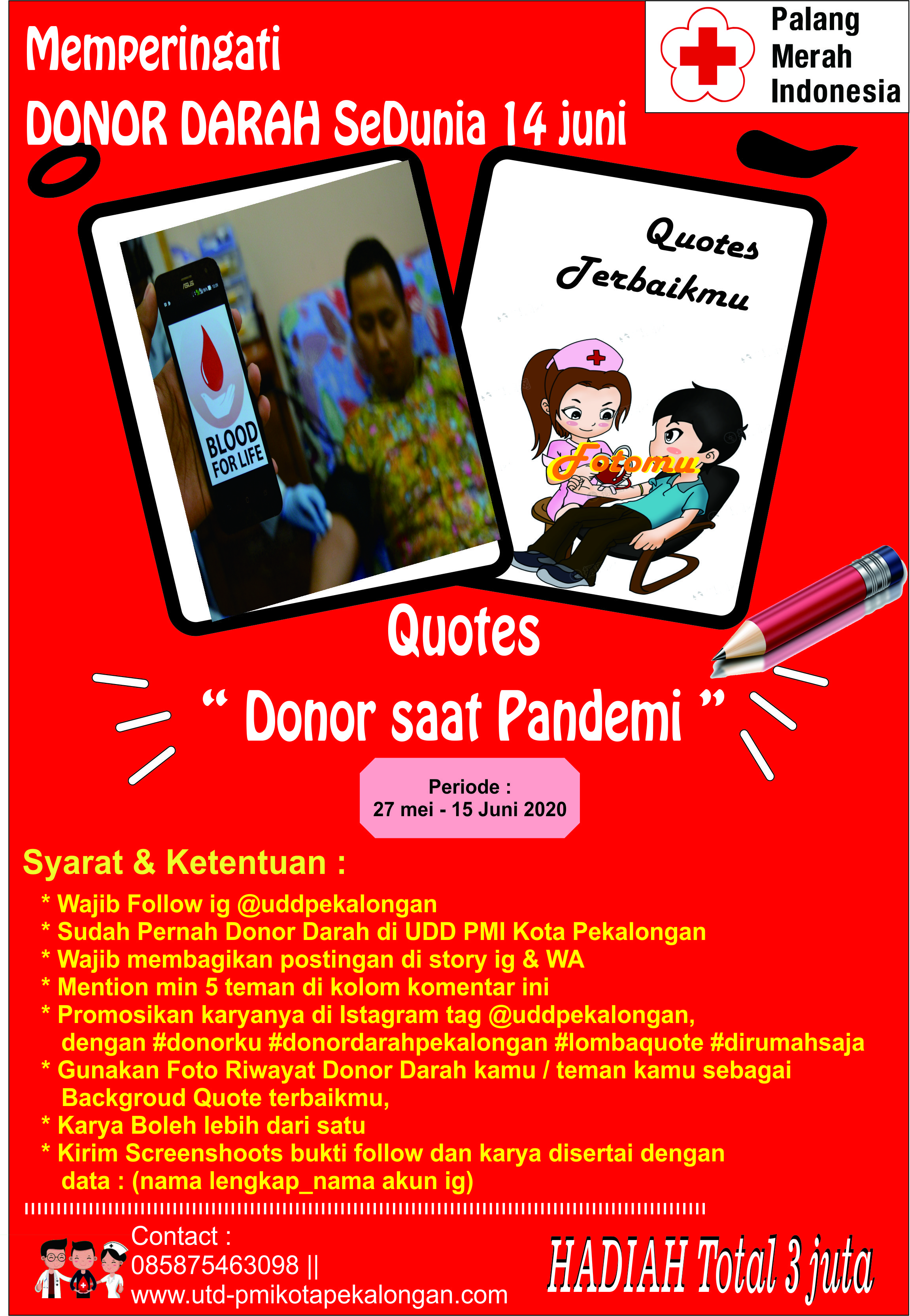 POster Lomba Quote